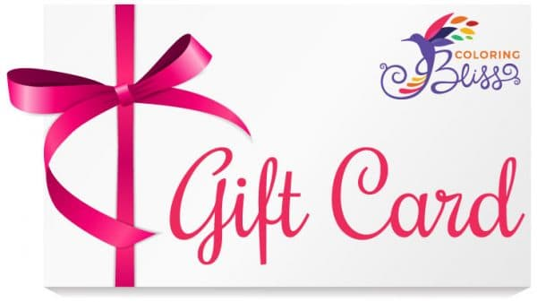 Coloring Bliss eGift Cards