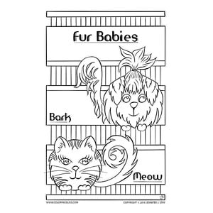 Fur Babies Mother's Day Card