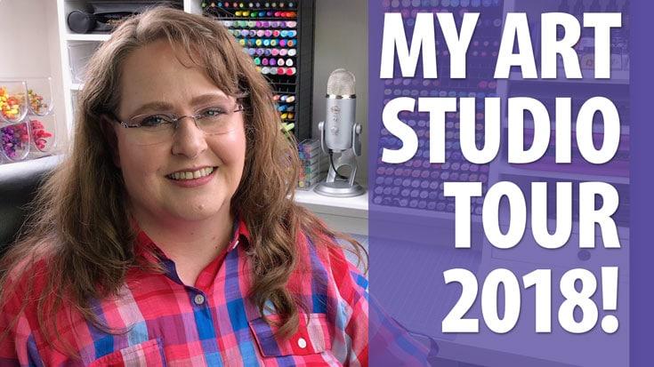 My Art Studio Tour 2018