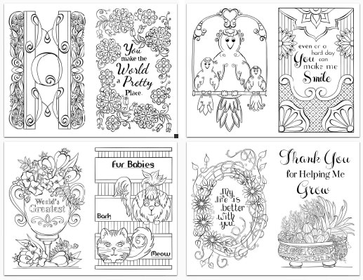 - Mother's Day Coloring Pages