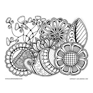 Limited Edition Coloring Page