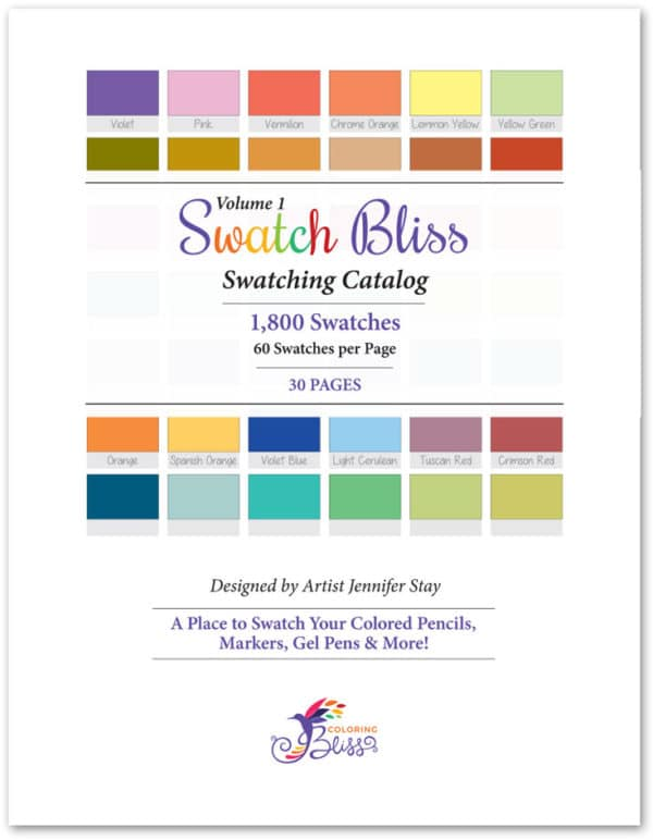 Swatch Bliss - 30 Pages Cover