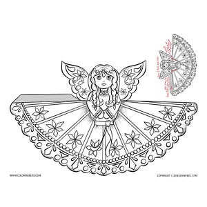 Christmas Angel Cut Out