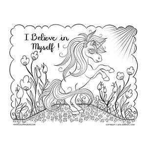 I Believe in Myself Unicorn