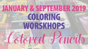 Colored Pencils Coloring Workshops