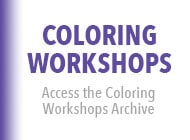 Coloring Workshops Archive