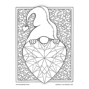 Gnome with Gem Heart