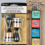 Tim Holtz Mini Distress Ink Kit and Blending Tool