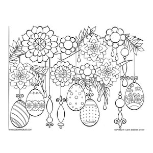 Easter Egg Hanging Decorations