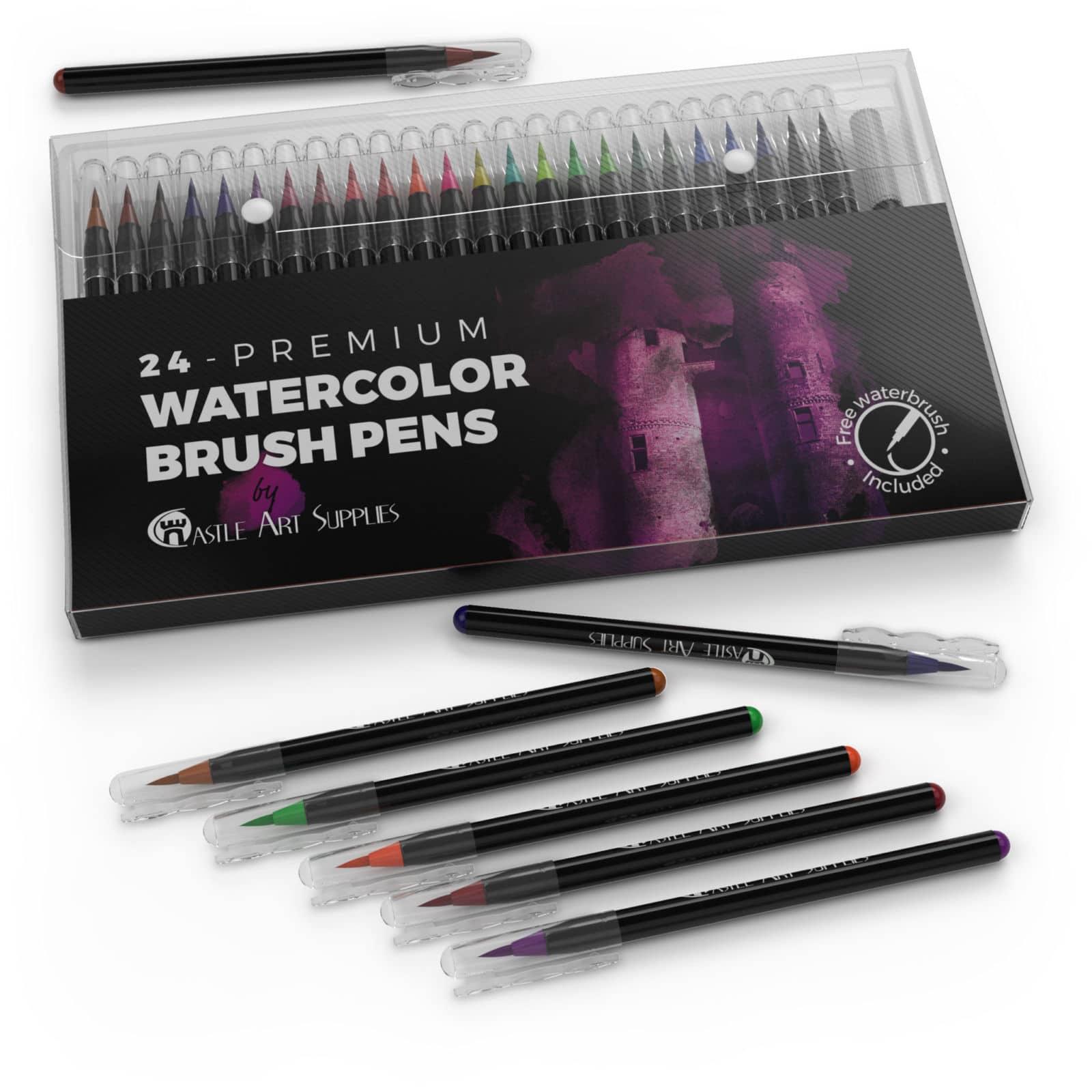 Castle Art Supplies Waterbrush Pens