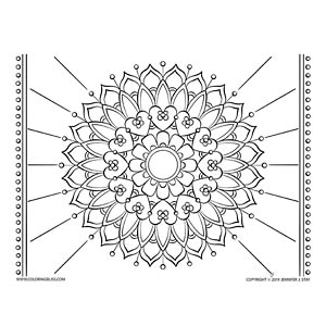 Community Drawn Mandala