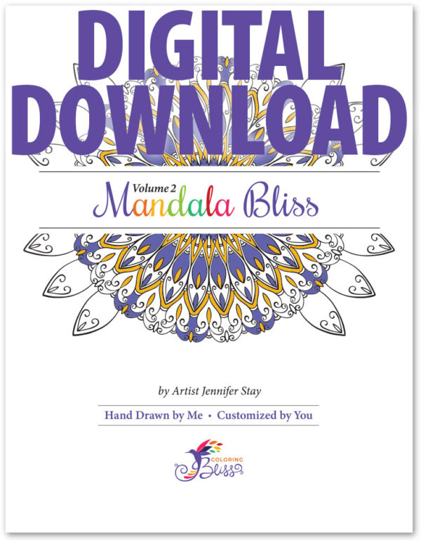 Mandala Bliss, Volume 2, Digital Version