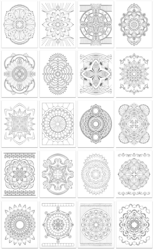 Mandala Bliss Volume 2 Page Samples
