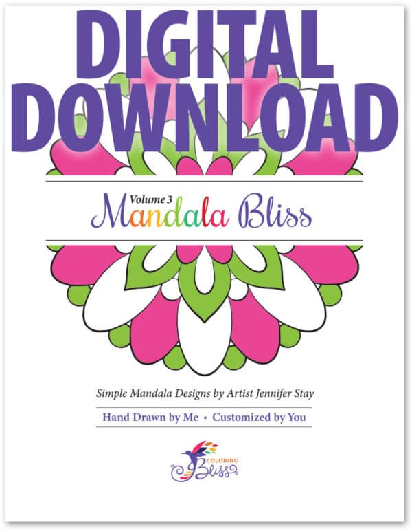Mandala Bliss Volume 3 Digital