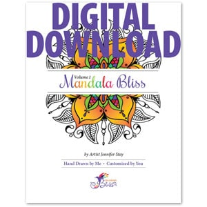 Mandala Bliss Volume 1 Digital Download