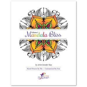 Mandala Bliss, Volume 1 Coloring Book