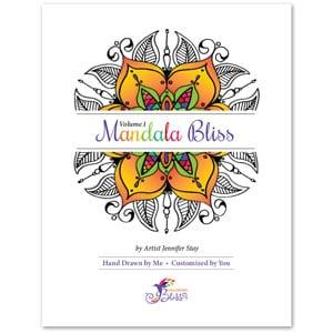 Mandala Bliss, Volume 1 Coloring Book