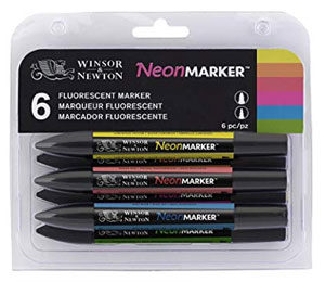 Winsor & Newton Neon Markers Giveaway