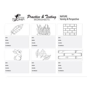 coloring practice worksheets nature. Black Bedroom Furniture Sets. Home Design Ideas