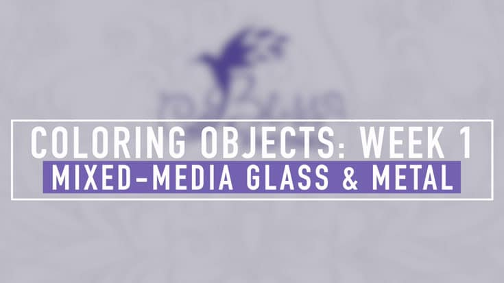Coloring Glass and Metal Objects