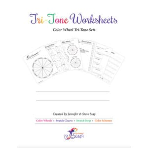 Blank Tri-Tone Worksheets
