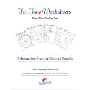 Prismacolor Premier Colored Pencils Tri-Tones Worksheets