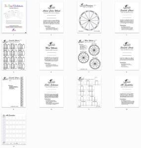 Blank Tri-Tone Worksheet Thumbs