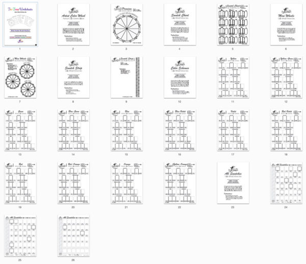 Blick Studio Tri-Tone Worksheets Thumbs