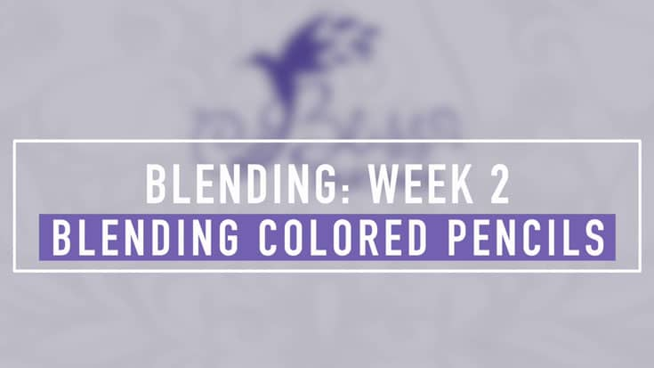 Blending Colored Pencils