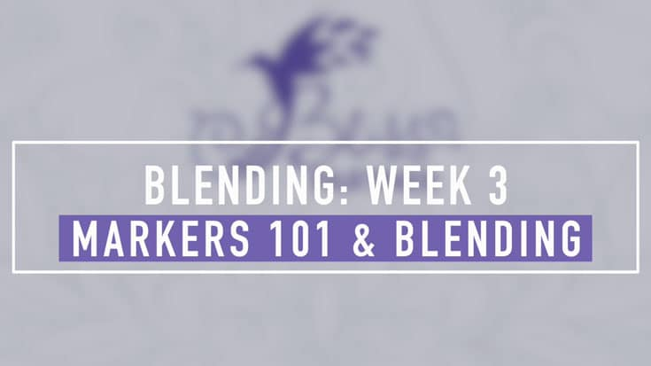 Markers 101 and Blending
