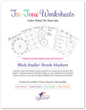 Blick Studio Brush Markers Cover Page
