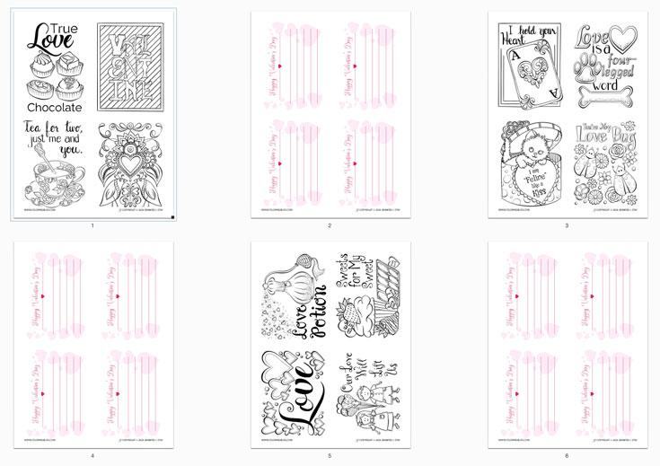 12 Valentine's Day Cards