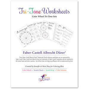 Albrecht Durer Tri-Tone Worksheets