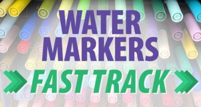 Water-Based Markers Fast Track Series