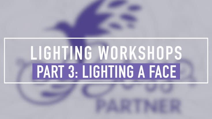 Lighting Workshop Part 3 - Lighting a Face