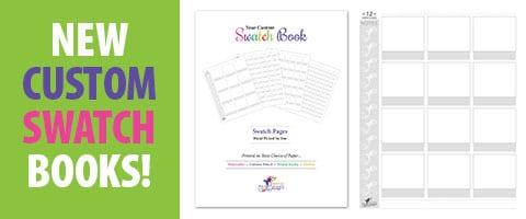 New Custom Swatch Books