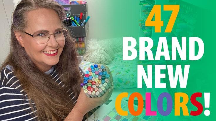 47 New Blick Studio Brush Marker Colors