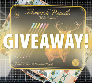 Monarch Colored Pencils Giveaway