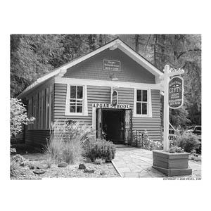 Apgar School House - Glacier National Park