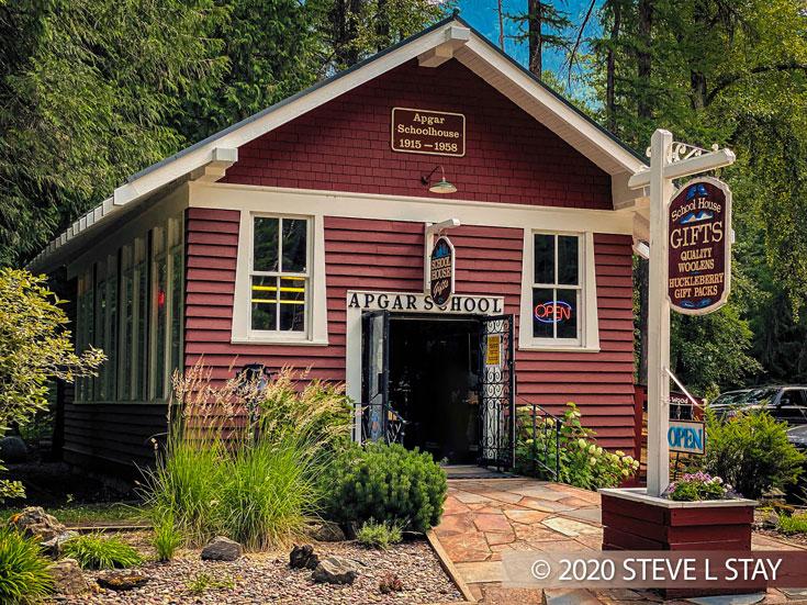 Glacier National Park Apgar School House