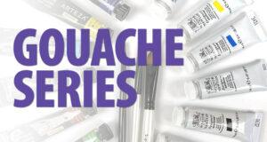 Gouache Coloring Series