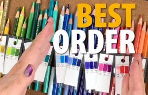 Best Color Order for Prismacolor Pencils