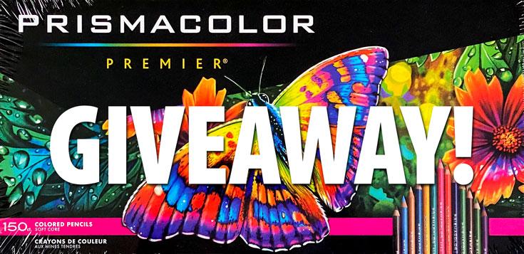 Prismacolor Premier Colored Pencils Giveaway