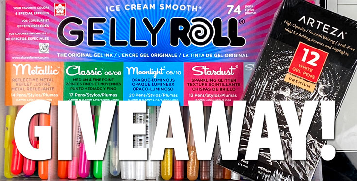 Gelly Roll Gel Pens Giveaway