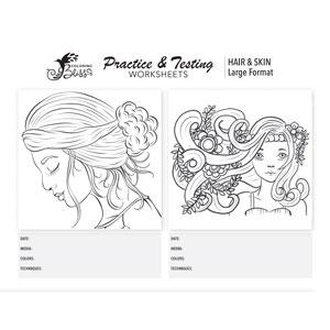 Practice Coloring Hair