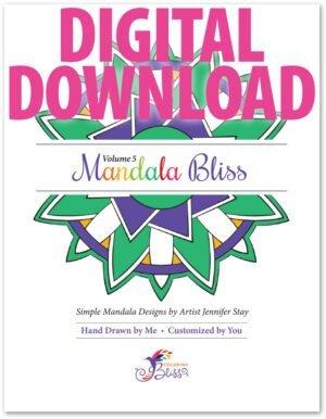 Mandala Bliss Volume 5 Digital Download