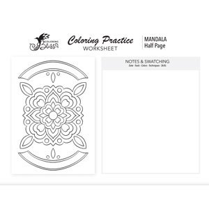 Coloring Page Practice - Mandala