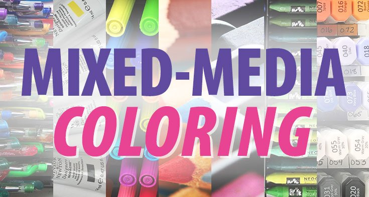Mixed-Media Coloring Workshops