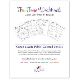Caran d'Ache Pablo Colored Pencils Tri-Tone Workbook Featured