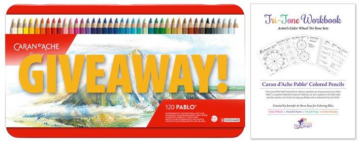 Caran d'Ache Pablo Colored Pencils Giveaway